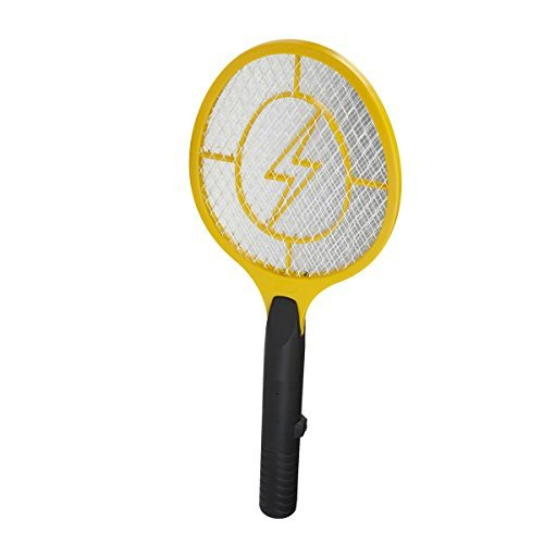 BuzzKiller Electronic Fly Insect Bug Mosquito Swatter Zapper Killer Indoor Outdoor Handheld Portable Racket Trap by BuzzKiller