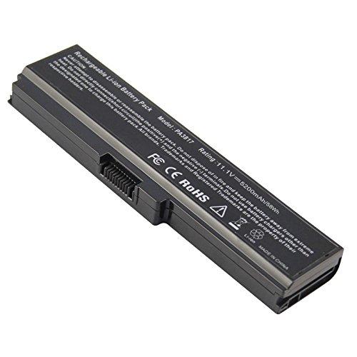 ACDoctor Battery For Toshiba PA3817U-1BRS PA3818U-1BRS For L755 L675 L750 L700 P755 P750 C655 A655 A665 C655D L755D L755-s5167 L755-s5170 L755-s5175 L755-s5213 Satellite