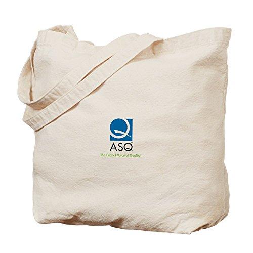 Cafepress–ASQ Tote bag–Borsa di tela naturale, tessuto in iuta