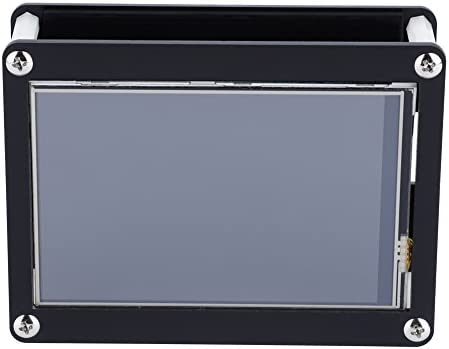 Denash LCD Touch Screen for Raspberry Pi 4inch 480x320 Resolution LCD Display Screen with Acrylic Case for Raspberry Pi
