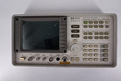 Keysight Agilent 8560A Front Panel with Connector