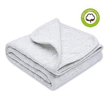 8b8ff2bce9 Amazon.com  Organic Cotton Baby Blanket Warm