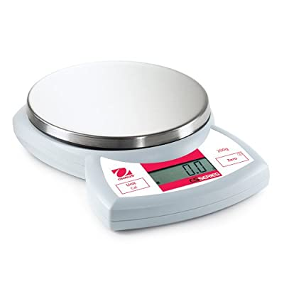 Ohaus CS200 Compact Scale, 200g Capacity and 0.1g Readability