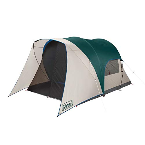🥇 Coleman Cabin Camping Tent with Weatherproof Screen Room