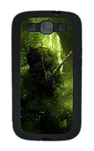 Samsung S3 Case Deep forest TPU Custom Samsung S3 Case Cover Black