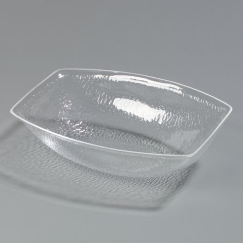 - Carlisle OSB17207 Acrylic Showare Pebbled Oval Bowl, 5.50-Quart Capacity, 14
