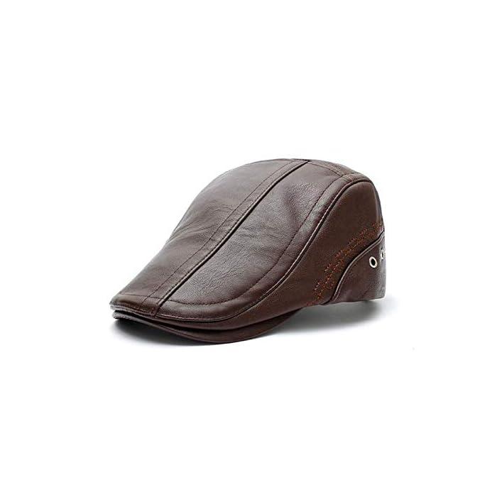 41EIVWOjHPL Boinas Suave, cómodo y flexible; Conveniente para al al aire libre.Pliega para su almacenamiento En general, se trata de un casquillo de golf de peso ligero y elegante que es realmente grande para cualquier actividad o salidas PU(Poliuretano)