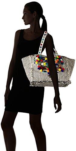 Antik Batik Udipi, Borsa tote donna multicolore Multicolore(Multico) 24x28x53 cm (W x H x L)