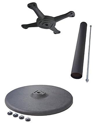 Amazoncom Johnson Rose Table Base Kit Round Standard - Round table base kit