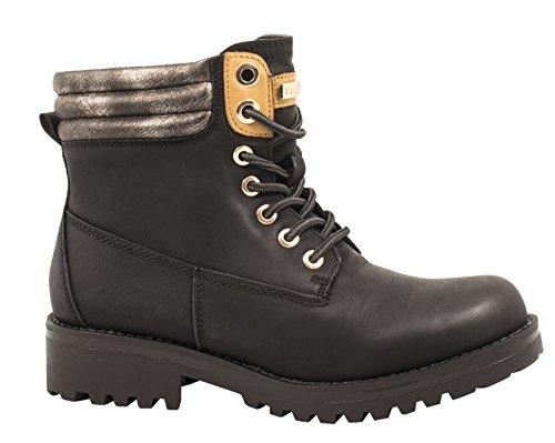 Elara - botas de nieve Mujer negro