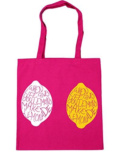 Bag Gym 10 gives when Fuchsia 42cm litres lemons x38cm make Tote life HippoWarehouse you lemonade Shopping Beach EPz6qwq