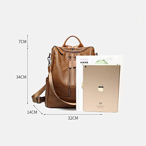 Souple Marron Sac En Sacs Cats Main Peau Cuir Mouton Grand Voyage À De Dos Mode nZ4PqwPBRx