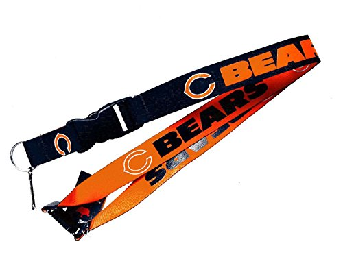 aminco NFL Chicago Bears Reversible Lanyard 23 Chicago Bears Jersey