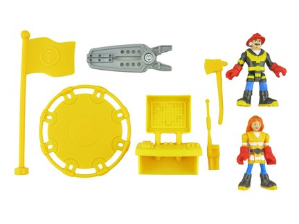 Rescue Heroes Fisher Price Firehouse - Replacement Parts - CDD69