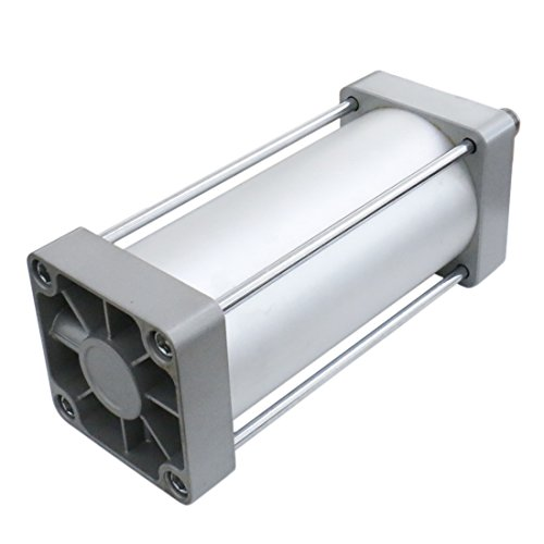 Baomain Pneumatic Air Cylinder SC 125-300 PT 1/2; Bore: 5'', Stroke: 12''; Screwed Piston Rod Dual Action by Baomain (Image #4)