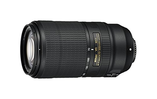Nikon AF-P NIKKOR 70-300mm f/4.5-5.6E ED VR f/34-8 Fixed Zoom Digital SLR Camera Lens, Black Digital Zoom Lens Camera Lens