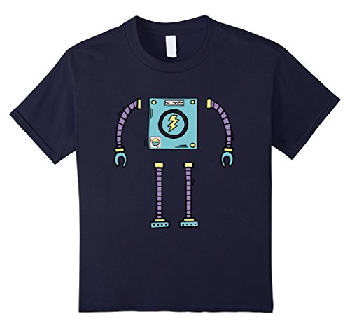 kids robot shirt - 8