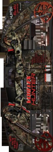 Barnett Vortex Hunter Youth Archery Bow with 40-60 Lbs, Fiber Optic 3 Pin Sight, Arrow Rest, 3 Arrow Quiver, High Def. Camouflage Finish, Right Handed Only