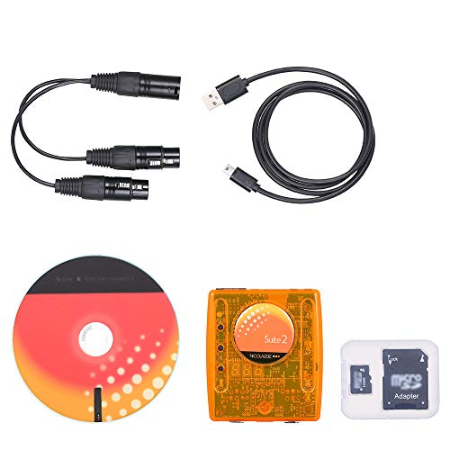 Lilideni DMX Computerized Lighting Controller Kit for Stage Lamp Lighting Fixture Portable