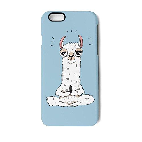 Case for Apple iphone 7 and iphone 8 Cute alpaca plush stuffed animals Shock-Absorption Bumper Cover Anti-Scratch Clear