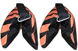 STUDIOHUT DGSB-2SET Saddle Design Sandbag for Video and Photo Studio Support Equipment - Set of 2 (Black)