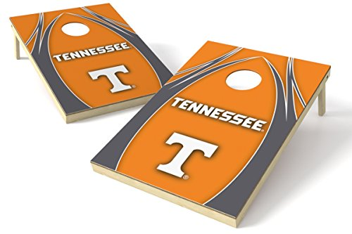 (Wild Sports NCAA College Tennessee Volunteers 2' x 3' V Logo Cornhole Game Set)