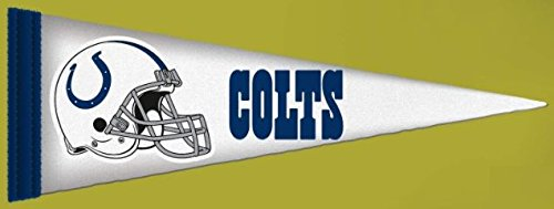 FATHEAD Indianapolis Colts Team Pennant Logo NFL Vinyl Wall Graphic 38