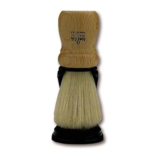 Marvy Shaving Brush Omega #5 On Stand