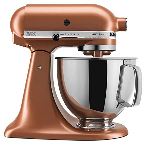 - KitchenAid KSM150PSCE Artisan Stand Mixers, 5 quart, Copper Pearl
