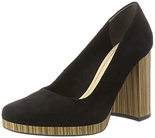 Marco Tozzi Damen 22431 Pumps Schwarz (Black 001)