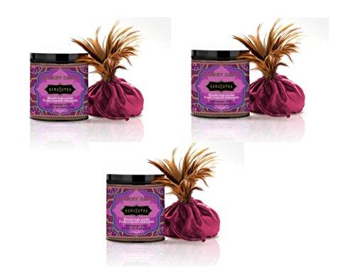Kama Sutra Honey Dust Powder Raspberry Kiss 8 oz (Set of 3)