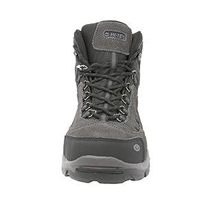 Hi-Tec Men's Bandera Mid Waterproof Hiking Boot (10.5 D(M) US, Charcoal/Black/Steel Grey)