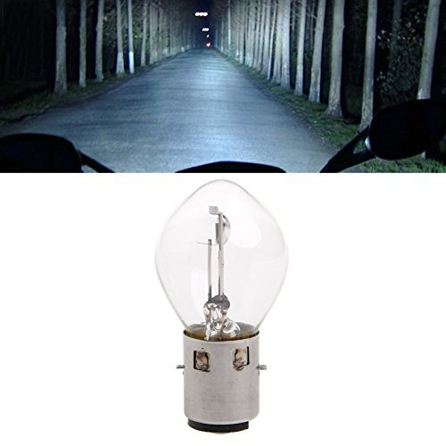 Delight eShop ATV Moped Scooter Head Light Bulb Motorcycle 12V 35W 10A B35 BA20D Glass New