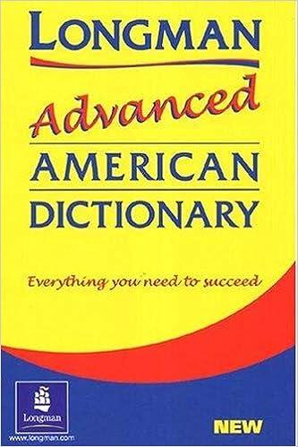 Longman Advanced American Dictionary Paper Laad Longman