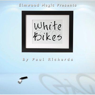 White Bikes (2013) by Paul Richards Elmwood Magic