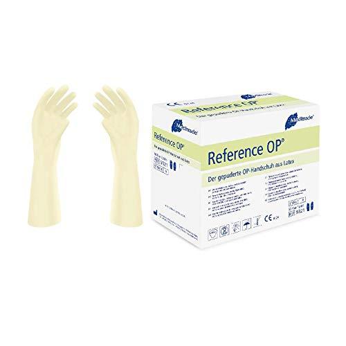 Pack of 100 /Sterile latex Size 7.5/ Meditrade 932175/Reference Gepuderte Gloves/