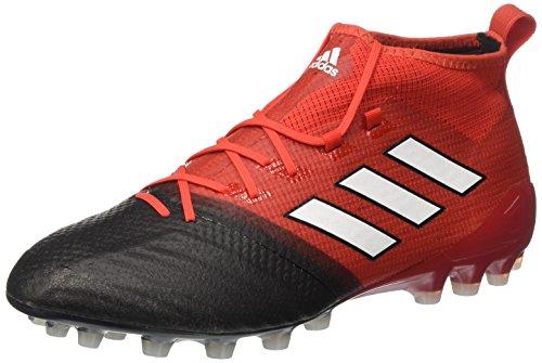 adidas Ace 17.1 Primeknit Ag, Zapatillas de Fútbol para Hombre Rojo (Red/footwear White/core Black)