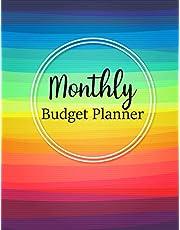 Monthly Budget Planner: Weekly Expense Tracker Bill Organizer Notebook Business Money Personal Finance Journal Planning Workbook size 8.5x11 Inches