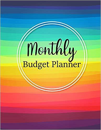 Weekly Expense Tracker Bill Organizer Notebook Business Money Personal Finance Journal Planning Workbook size 8.5x11 Inches Monthly Budget Planner
