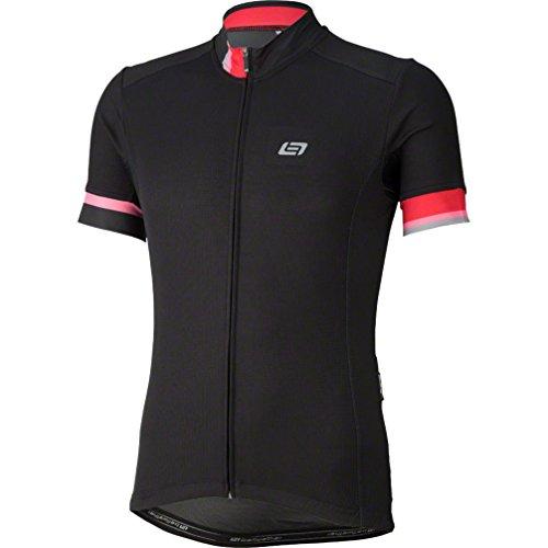 - Bellwether Phase Men's Short Sleeve Jersey Top: Black MD
