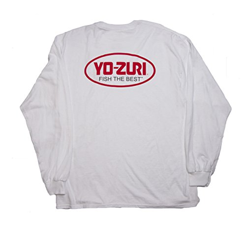 Yo-Zuri Fish The Best Short Sleeve T-Shirt, White, X-Large - Fish Short Sleeve Tee