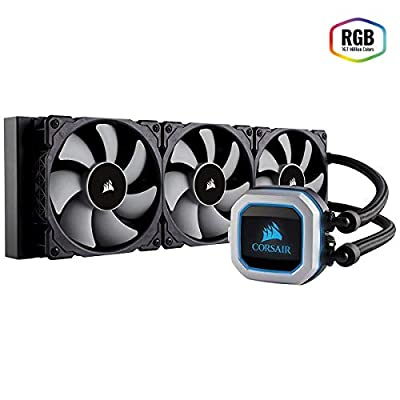 CORSAIR HYDRO Series H100i PRO RGB AIO Liquid CPU Cooler,