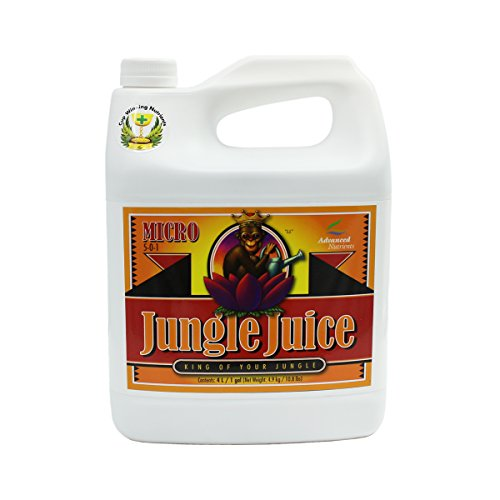 Advanced Nutrients Jungle Juice Micro Fertilizer, 4-Liter Advanced Gh Enhancers