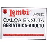 Calça Plástica Geriátrica de Adulto Média para Incontinência Urinária Lembi M1