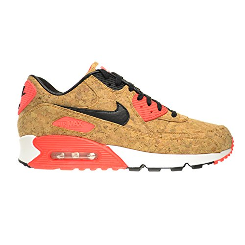 NIKE Air Max 90 Anniversary Cork Women's Shoes Bronze/Black-Infrared-White 726485-700