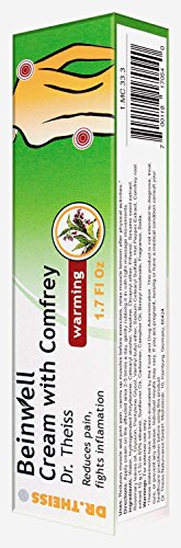UPC 700118170540, Dr. Theiss Beinwell Warming cream with Comfrey 50ml/1.7 fl oz