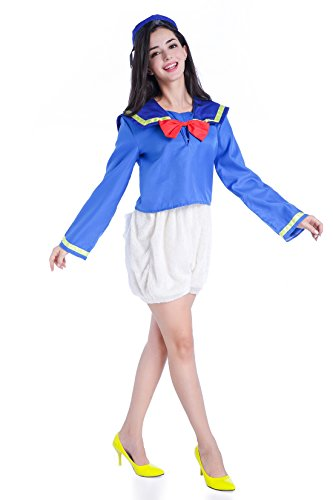 Donald Duck 3-Piece Costume ...  sc 1 st  What About Us Pets & Donald Duck 3-Piece Costume Set with Shirt Puffy Shorts and Hat Saiz ...