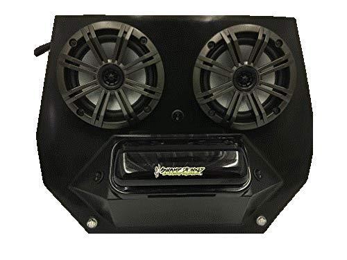 SD 2BBT2RGB -Polaris RZR BT Stereo System UTV Side by Side (2-6.5' Marine Speakers)