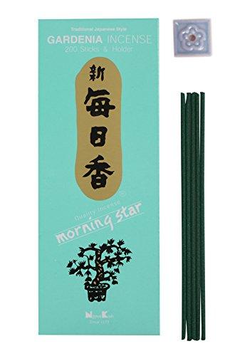 - Morning Star - Gardenia 200 Sticks - by Nippon KODO Japanese Quality Incense Since 1575