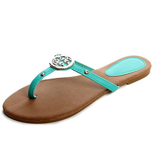 topschuhe24 - Sandalias de vestir para mujer verde - verde